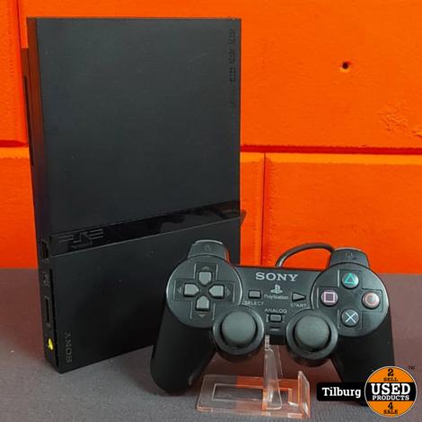 PS2 Slim + 2X Controller + Mem.Card + Kabels