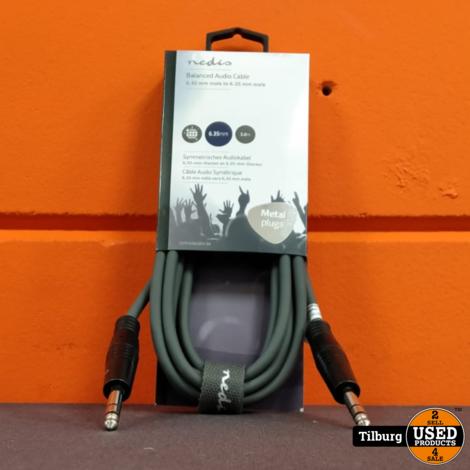 Nedis Gebalanceerde Audiokabel  |  6,35 mm male -
