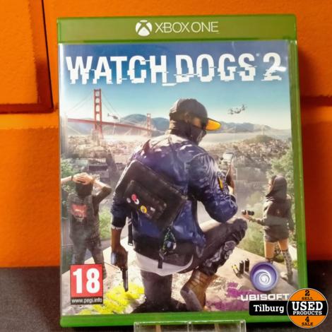 Xbox One Watch dogs 2 || Incl. garantie