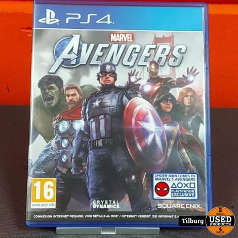 PS4 Spel Marvel Avengers || Incl. garantie