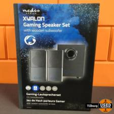 Nedis Gaming-luidsprekers | 2.1 | Over USB gevoed || Incl. garantie