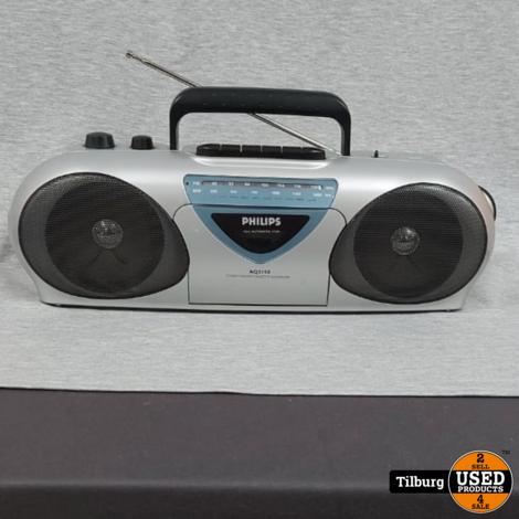 Philips AQ5150 Radio stereo cassette || Incl. garantie