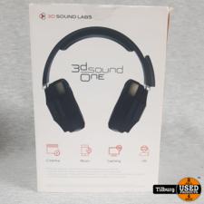 3D sound One headphones in Doos || Incl. garantie