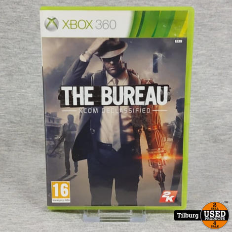 Xbox 360 The Bureau Xcom Declassified || Incl. garantie