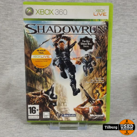 Xbox 360 spel Shadow Run || Incl. garantie