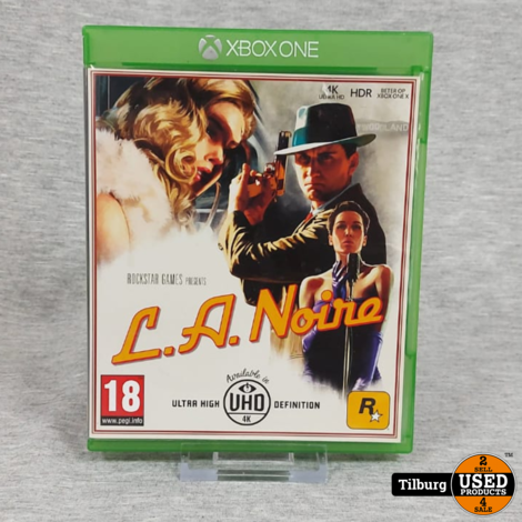 Xbox one L.A noir || Incl. garantie