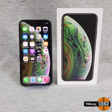 iPhone XS 64GB Space Grey met Doos || Incl. garantie