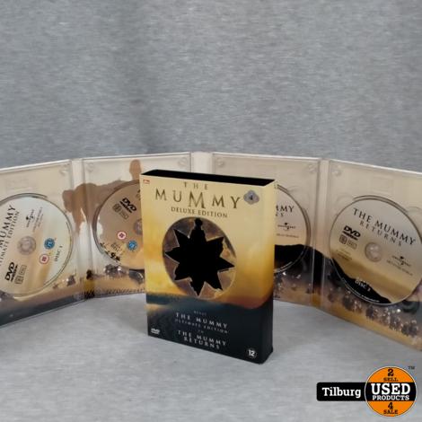 DVD-Box The Mummy Deluxe Edition 4-disc || Incl. garantie