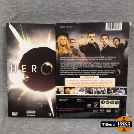 DVD-Box Heroes Seizoen 3 7-Disc's