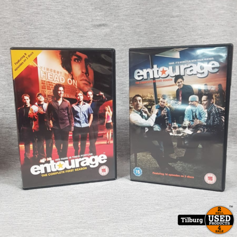 Entourage Season 1 and 2 || Incl. garantie