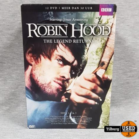 Robin Hood The Legend Returns Series 1 t/m 3 || Incl. garantie