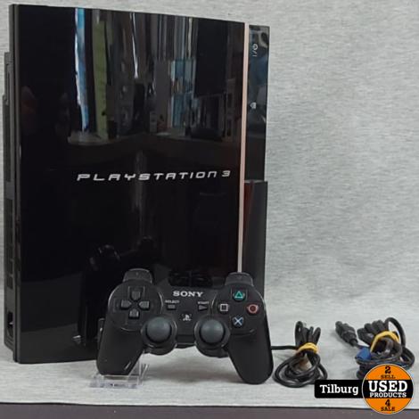 Sony Playstation 3 Phat Incl. Controller en Kabels || Incl. garantie