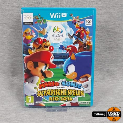 Wii U Mario&Sonic op de Olympische Spelen Rio 2016 || Incl. Garantie