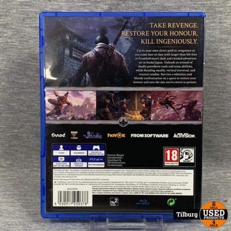 PS 4 Spel: Sekiro Shadows Die Twice || Incl. garantie