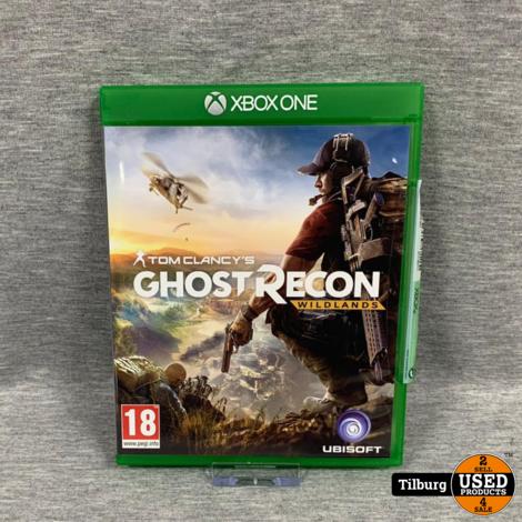 xbox one spel tom clancy's ghost recon wildlands