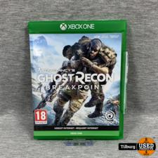 xbox one spel tom clancy's ghost recon break point