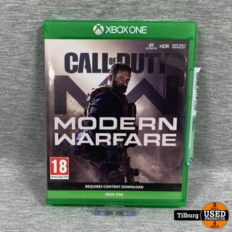 xbox one spel  call of duty modern warfare
