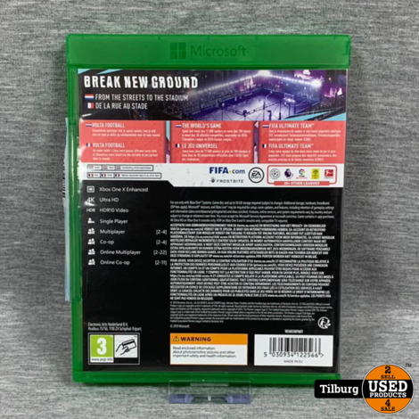 xbox one spel fifa 20