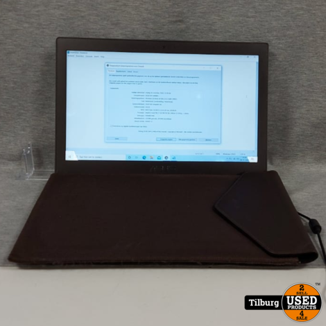 Asus Zenbook UX31E 100GB + 135GB Incl. Oplader en Beschermhoes || Incl. Garantie