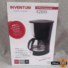 Inventum KZ610 Koffiezetapparaat Nieuw in Doos    Incl. garantie