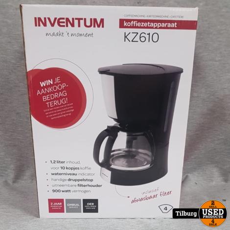 Inventum KZ610 Koffiezetapparaat Nieuw in Doos || Incl. garantie