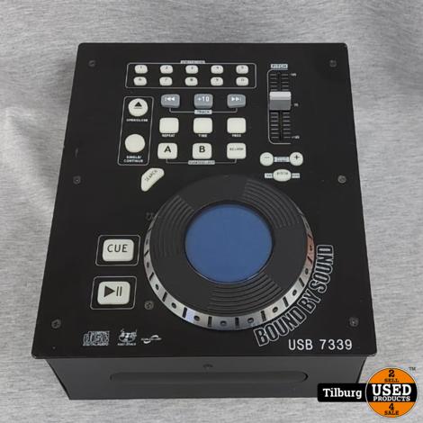 US Blaster USB 7339 DJ-CD-Speler || Incl. Garantie