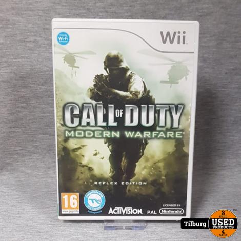 Nintendo Wii: Call of Duty Modern Warfare Reflex Edition || Incl. garantie