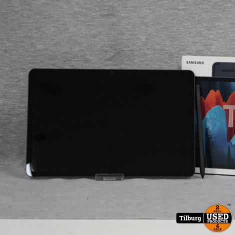 Samsung galaxy Tab S7 SM-T870 128GB z.g.a.n in Doos    Incl. Garantie