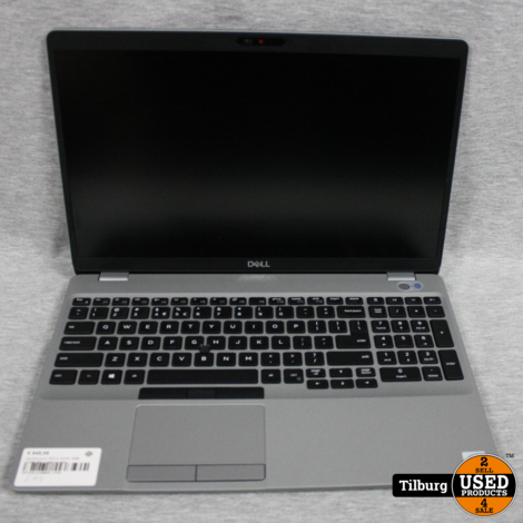 Dell Precision 3550 I5 10210u 16GB 512GB SSD + lader en hoes