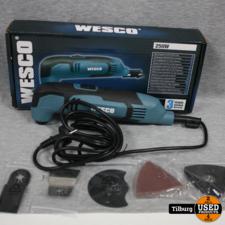 Wesco Multitool Ws5507 250w    Incl. Garantie