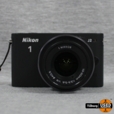 Nikon Nikon 1 J2 10,1 MegaPixel met Verwisselbare Lens 10-30MM. In Doos || Incl. Garantie