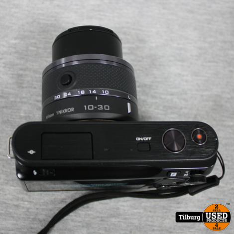 Nikon 1 J2 In Doos Incl. Tasje, Oplader en Extra accu