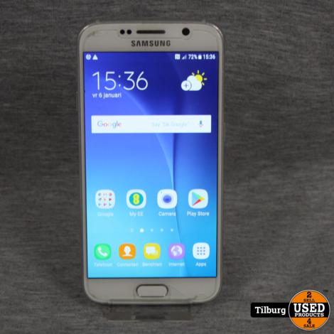 Samsung Galaxy S6 Wit 32GB met oplaadkabel