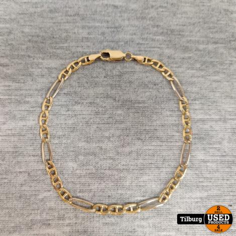 14 krt Armband 4,9 GR