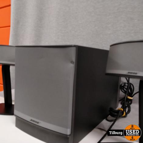 bose companion 5  2.1 met speaker en subwoofer en kabels    Incl. Garantie