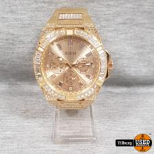 Guess Zeus Gold gw0209g2 Mens sport Horloge || Incl. Garantie