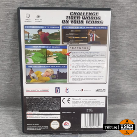Nintendo GameCube Tiger Woods PGA Tour 2005 || Incl. Garantie