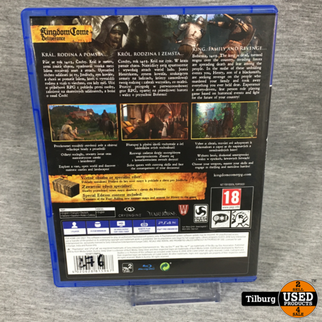ps 4 spel: Kingdom Come: Deliverance special edition