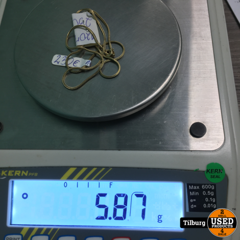 14KT Gouden  Ketting 5,65 Gram