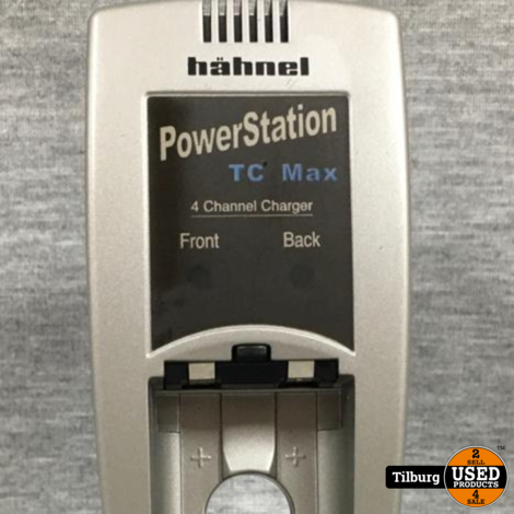 Hahnel PowerStation tc max batterijlader