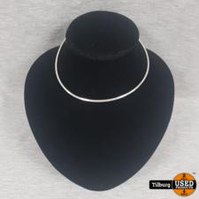 Zilveren Harde Ovalen Ketting 18.1 Gram