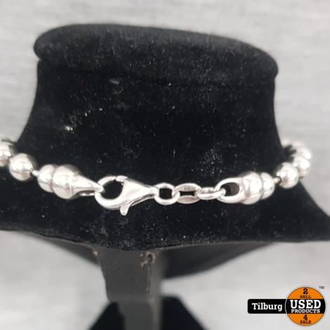Zilveren Armband met Bolletjes 11.8 gram