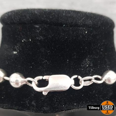 Zilveren Armband met Bolletjes 10.3 Gram