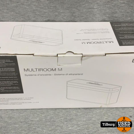 One Acoustic Multiroom M Speaker NIeuw in doos