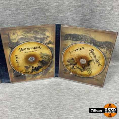 DVD-Box Lord Of The Rings The Return Of The King Special Extended Edition