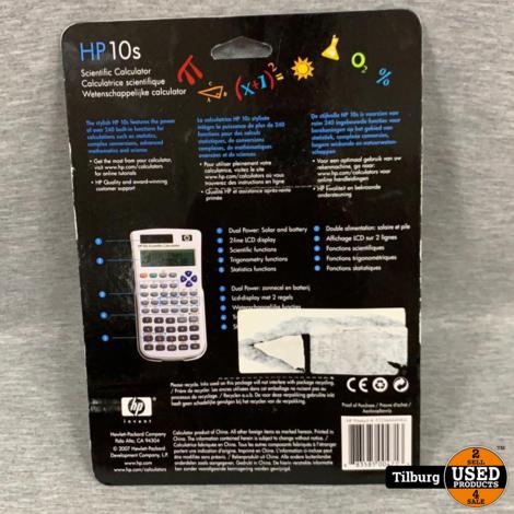 HP 10S Calculator Nieuw in Blister