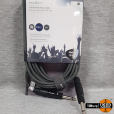 Nedis Unbalanced Audio Cable 6.35 MM to 6.35 MM