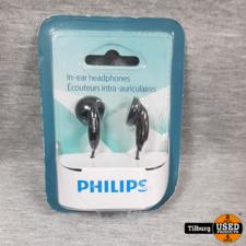 philips Philips In-ear Headphones Nieuw in Doos