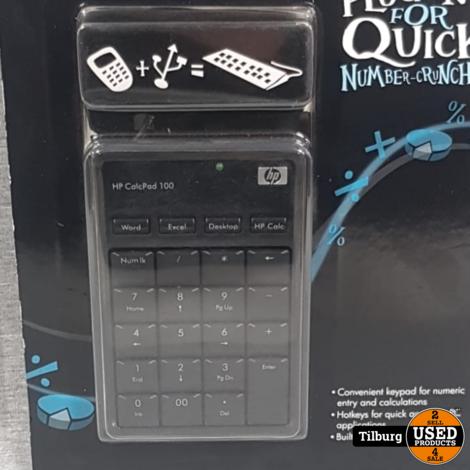 HP CalcPad 100 USB Keypad    NIEUW    Incl. garantie
