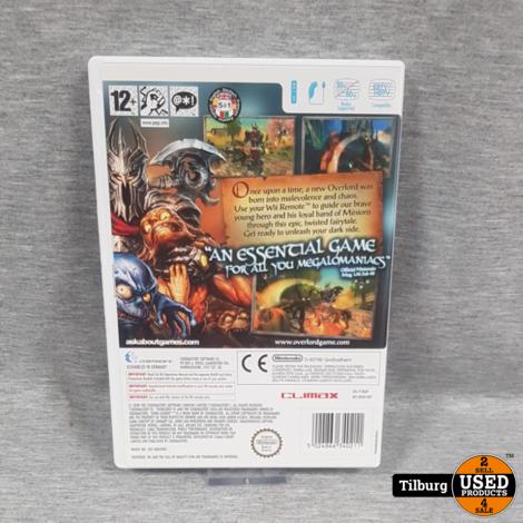 Nintendo Wii: Overlord Dark Legend || Incl. garantie